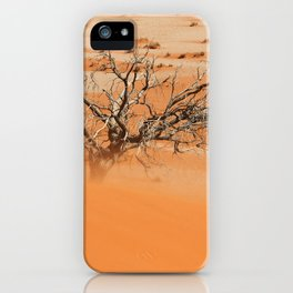NAMIBIA ... Namib Desert Sandstorm iPhone Case
