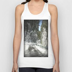 Winding road down Mt.Baw Baw Unisex Tank Top