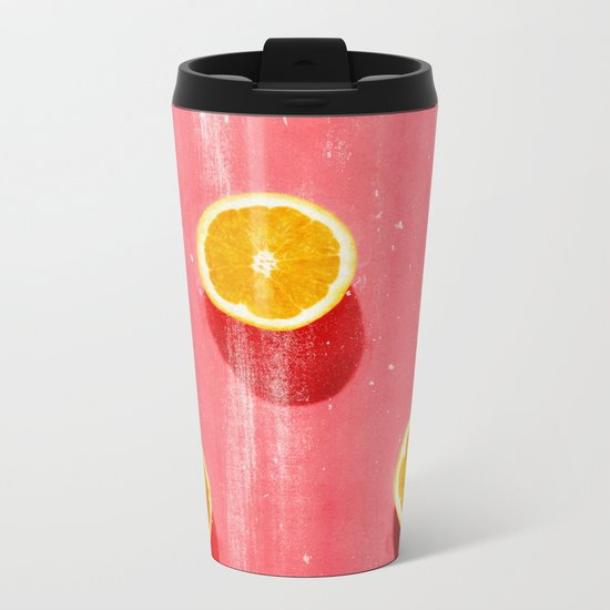 fruit 5 Metal Travel Mug