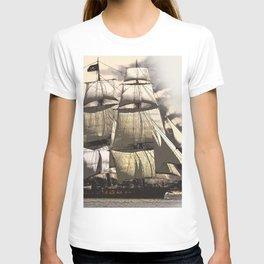 sailing ship vintage T-shirt