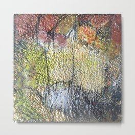 Promise of Life  - Mixed Media Beeswax Encaustic Abstract Modern Art, 2015 Metal Print