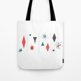 Mid Century Modern Design Tote Bag