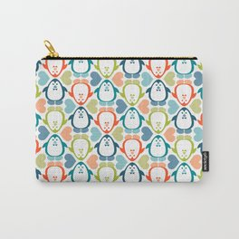 NGWINI - penguin love pattern 5 Carry-All Pouch