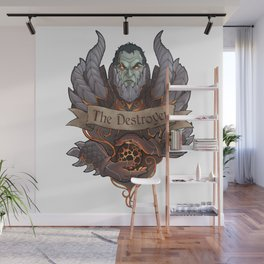 The Destroyer Wall Mural