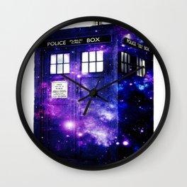 Extra Space-y TARDIS Wall Clock