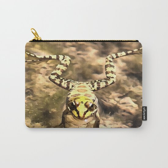 Swimming Frog Carry-All Pouch