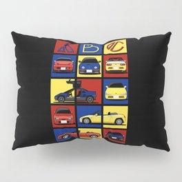 Kei Cars ABC Pillow Sham