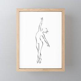 Zodiac Dancer Taurus Framed Mini Art Print