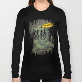 get to the choppaa camo Long Sleeve T-shirt