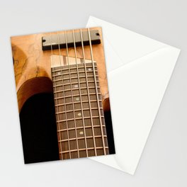 Music is a Moral Law ~ Bass Guitar Stationery Cards