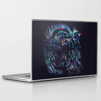 fierce Laptop & iPad Skins featuring FIERCE by dan elijah g. fajardo