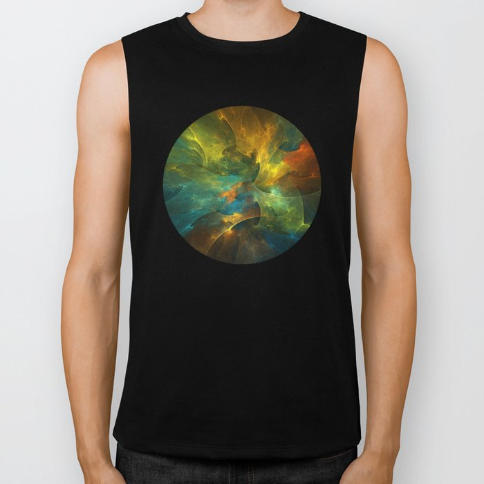 Somewhere in the Universe Biker Tank