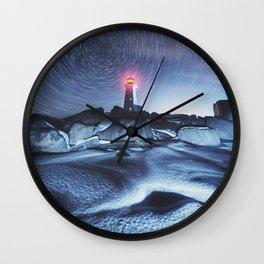 Frozen in Time Wall Clock