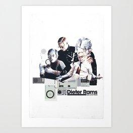 DIETER RAMS: DESIGN HEROES Art Print