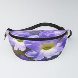 Purple Primrose Fanny Pack