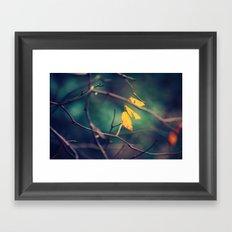 sweet November Framed Art Print