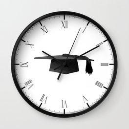 Mortarboard Wall Clock