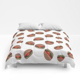 Its Raining Cheeseburgers Comforters