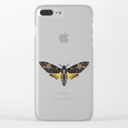 Death's-head hawkmoth Clear iPhone Case