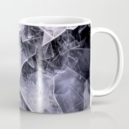 Cracked Ice Tiles In Lake Shore #decor #buyart #society6 Coffee Mug