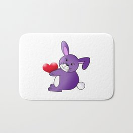 Take My Heart Bath Mat