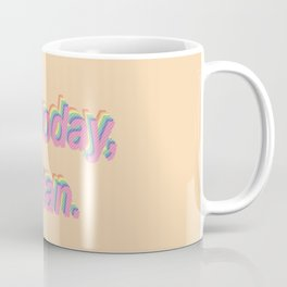 Not Today Satan - Popart Coffee Mug