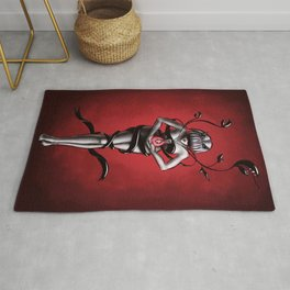 Science witch of organic chemistry Rug