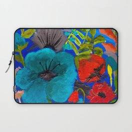 Blue Garden Laptop Sleeve