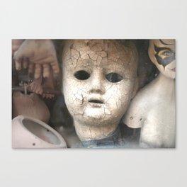 Old Dolls Canvas Print