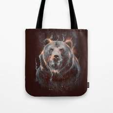 DARK BEAR Tote Bag