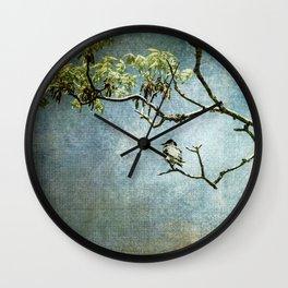 Lucky Bird Wall Clock