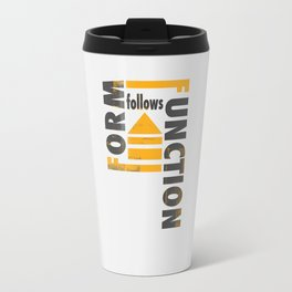 Forming the Quote Travel Mug