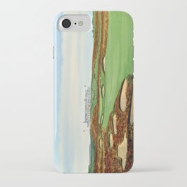 Shinnecock Hills Golf Course With Clubhouse iPhone Case