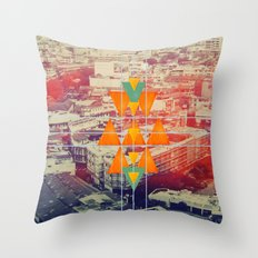 try angles Throw Pillow