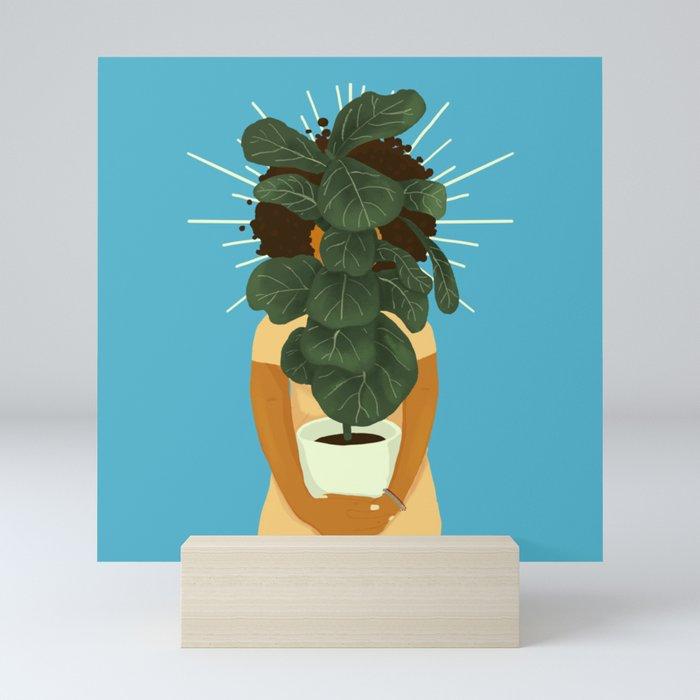 Plant Momma Mini Art Print