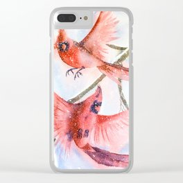 Cardinals Clear iPhone Case