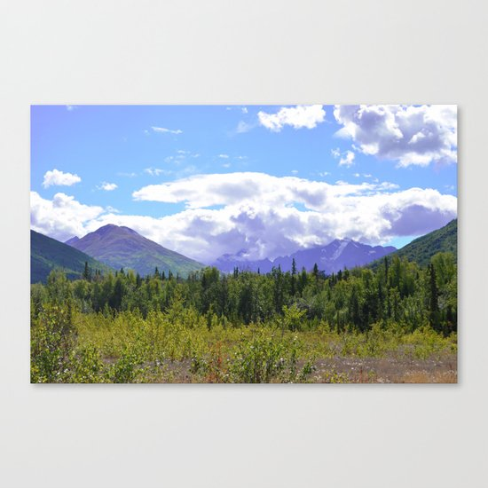The Mountains Are Calling . . . II Canvas Print