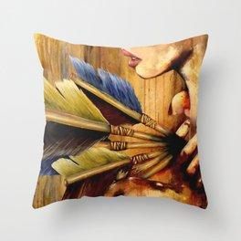 Struck Throw Pillow