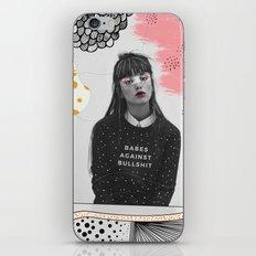 Babes Against Bullshit iPhone & iPod Skin