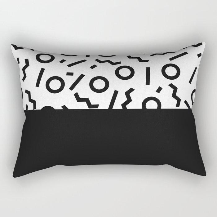 Memphis pattern 42 Rectangular Pillow