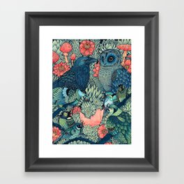 Cosmic Egg Framed Art Print