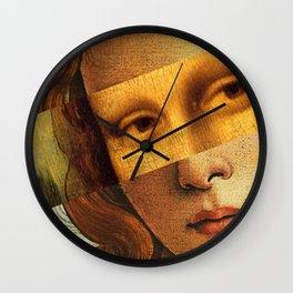 Botticelli's Venus and Mona Lisa Wall Clock