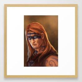 Seers Isle: Erik Framed Art Print