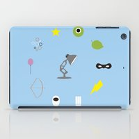 pixar iPad Cases featuring Pixar minimal by Nicolasfl