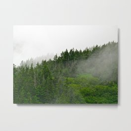 Misty Fjords  Metal Print