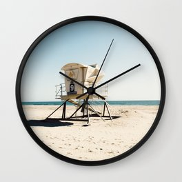 Huntington Beach Wall Clock