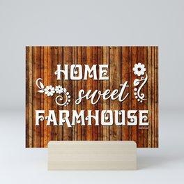 HOME SWEET FARMHOUSE Mini Art Print
