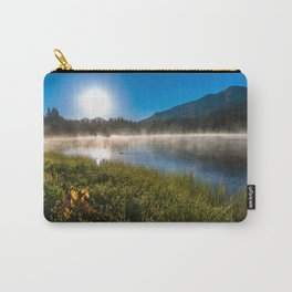 Morning Glory - Duck Swimming in Mountain Lake in Colorado Carry-All Pouch
