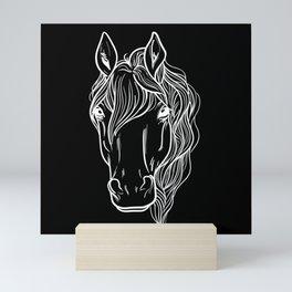 Horse Lover Horseback Riding Mini Art Print