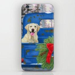 Pick-En Up The Christmas Tree iPhone Skin